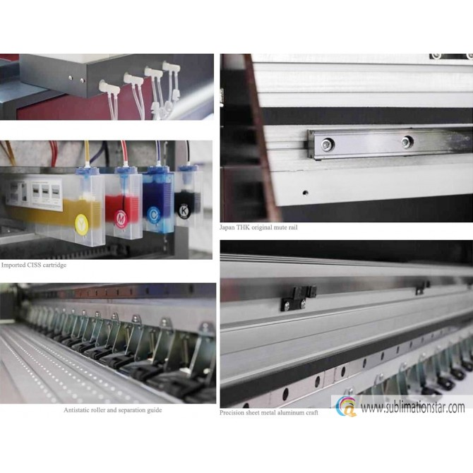 PC3200 3200DPT 19P2-R 1.9m Advertising Banner Wide Format Inkjet Printer