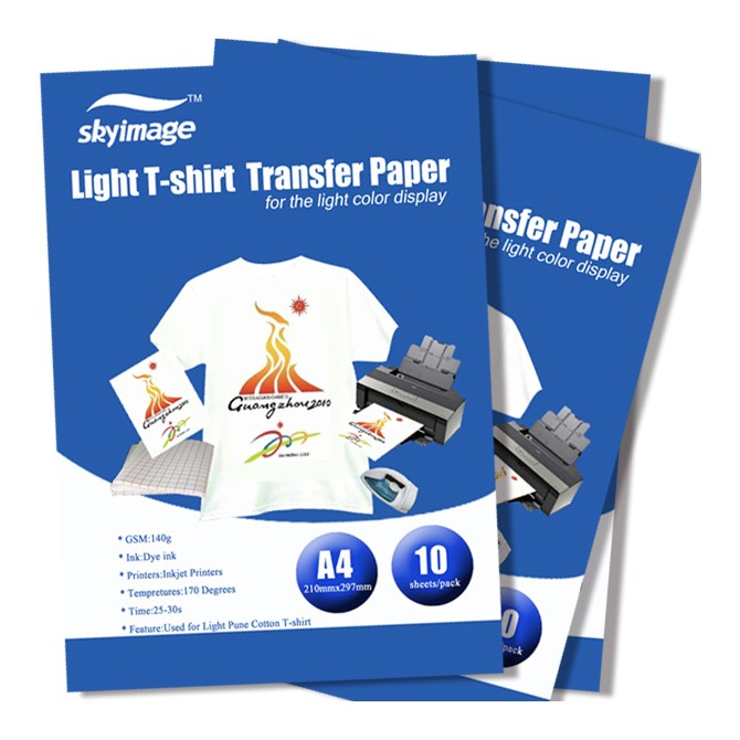 China Quality  Light T-shirt Heat Transfer Paper,Sublimation Printing Paper