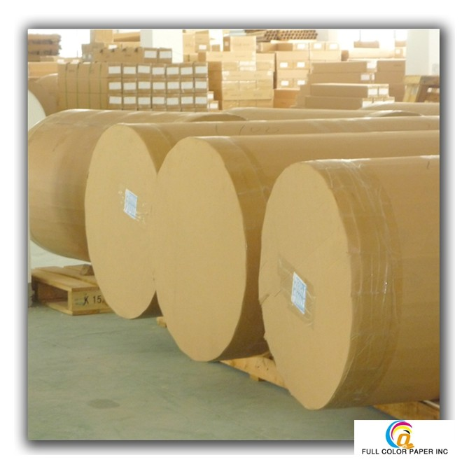 Jumbo Roll Sublimation Paper Fast Dry &Non-curl 50/57gsm for High Speed Printing Machine