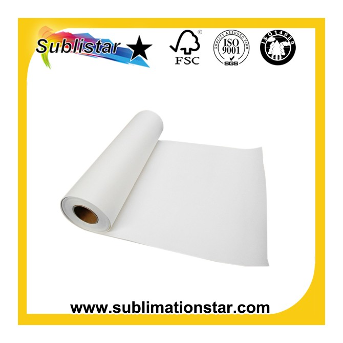 Economy 75gsm Sublimation Transfer Paper for High Speed Indusrial Printers
