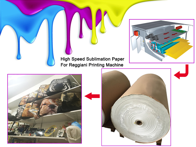 reggiani printer sublimation paper